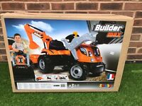 Smoby builder max tractor