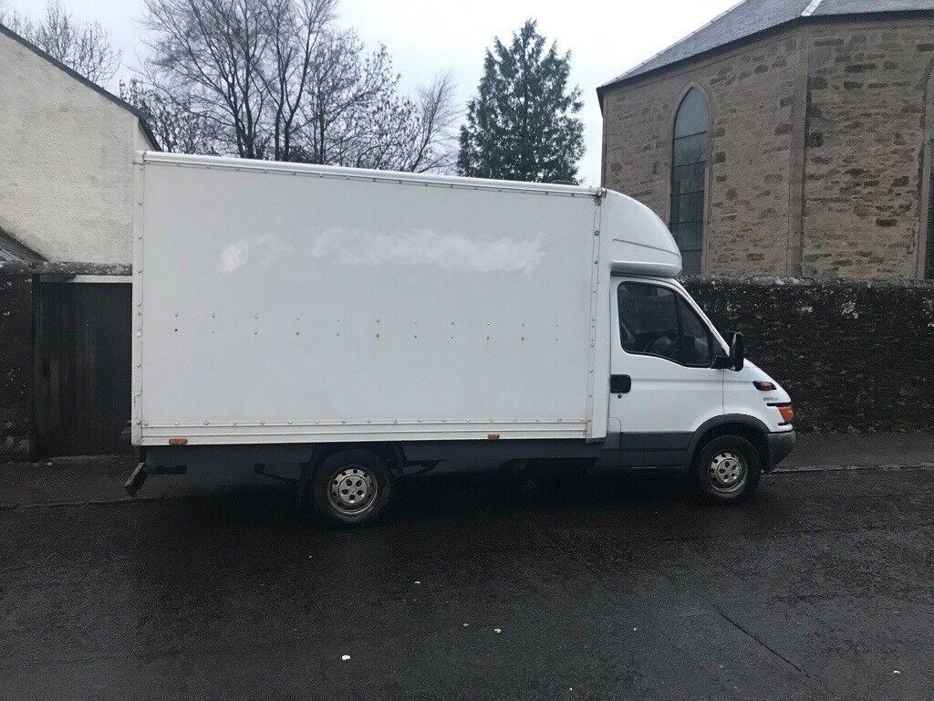 Iveco Luton box van part camper conversion very clean truck | in East End,  Glasgow | Gumtree