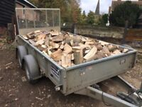Logs, Firewood, seasoned. Produced from local managed woodlands. Free delivery 20 miles Chelmsford.