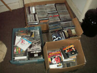 for sale 900 cds and dvds job lot
