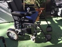 Wheeltech Enigma Energi Electric Wheelchair Extra large ,free local delivery,New Batteries