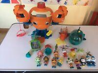 Octonauts octopod and accessories