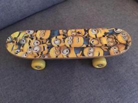Minions skateboard - brand new
