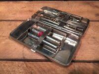 German portable antique field surgical instrument set