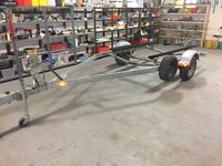 1600KG AMERICAN BRAKED BOAT TRAILER JUST BEEN SERVICED CARRYS UP TO 19FT BOAT