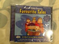 Favourite Tales cd for kids, 10 well loved fairy stories. Unopened (NEW), pet and smoke free home