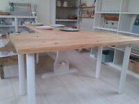 Refurbished Pine Desk/Table