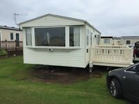 STATIC CARAVAN FOR HIRE IN EYEMOUTH nr Berwick, Edinburgh and Newcastle