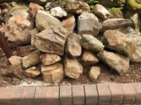 Rockery / Dry stane stones free to uplift