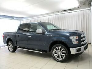 2017 Ford F-150 LARIAT 4x4 CREW 4DR w/ HEATED LEATHER SEATS, NAV