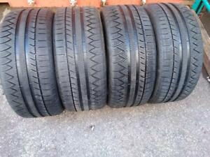 P255/45R18X4 (99V) MICHELIN PILOT ALPINE ALMOST BRAND NEW  WINTER TIRES USED FOR SALE
