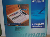 Cotman water colours new in box