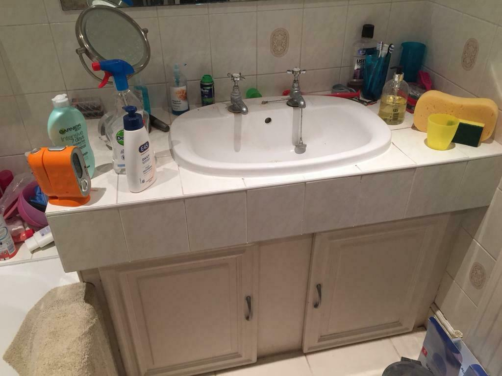 ALL 2 bathroom taps White sink basin quality classic style ...