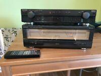 Technics SE-A909S and SU-C909U Amplifier And Pre Amplifier