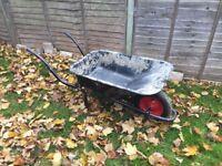 Wheelbarrow used once