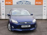 Ford Focus ZETEC S TDCI (£20.00 ROAD TAX) FREE MOT'S AS LONG AS YOU OWN THE CAR!!! (blue) 2014