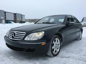 Mercedes-Benz S-Class 4,3 L 2003 s430 4 matic**bas millage** wow