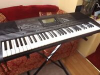 Technics SX-KN930 61-note Keyboard with Power supply and stand.Perfect order.