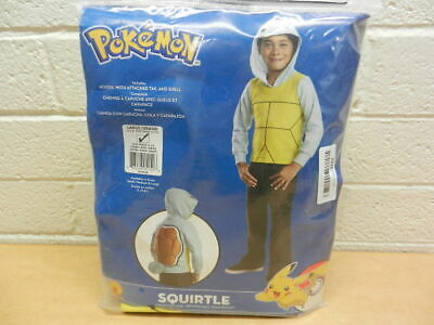 Boys Pokemon Squirtle Hoodie Costume Size L 12/14