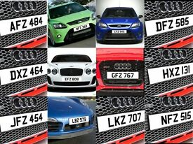 NI Dateless Personalised Number Plate Audi BMW Volvo Ford Evo Subaru Honda Toyota Kia GTI M3 RS