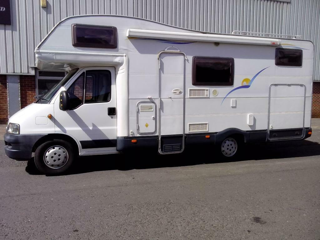 2003 ci riviera 181 g fiat ducato 2 8 jtd campervan for Motorhome with large garage