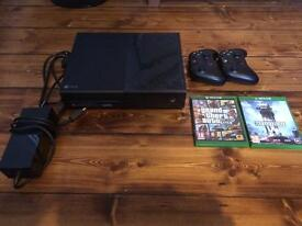 Xbox one 1TB console with bundle