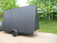Large advertising trailer in very good condition