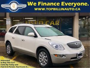 2012 Buick Enclave CXL AWD LEATHER, SUNROOF, 2 Years Warranty