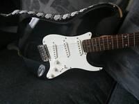 Electric Guitar +Amp plus accessories
