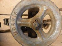 vintage chain hoist