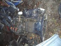 Bombardier Evinrude 135 Direct Injection Outboard Engine & gearbox Spares or Repairs