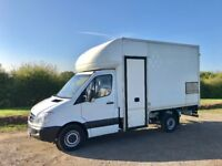 MERCEDES SPRINTER 313 CDI DIESEL 2011 11-REG 12FT 6 LUTON FULL SERVICE HISTORY DRIVES EXCELLENT