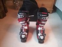 Atomic Hawk plus Ski boots UK size 10 with mouldable inners