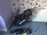 Wilson staff Di7 5iron-PW set plus king cobra 440sz driver and extra 5 wood, putter and SW (not Di7)