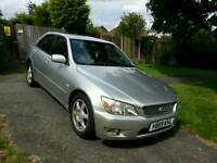 LEXUS IS 200 Y REG 2001 SILVER