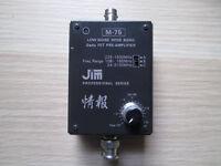 JIM M-75 RF PRE-AMPLIFIER for HF / VHF / UHF