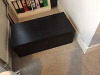 Ikea black chest
