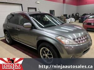 2007 Nissan Murano SE-AWD-Leather-Sunroof-Back Up Cam