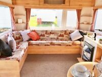 8 BERTH SITED STATIC CARAVAN,NR WELLS IN NORFOLK,SITE FEES INCLUDED,PET FRIENDLY,BEACH 200M AWAY