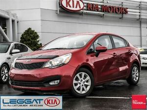 2013 Kia Rio LX+ - No Accident, VERY Low KM, Heated Seat