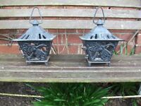 cast iron lanterns