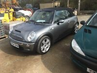 Mini Cooper s convertible low miles