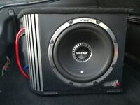 Vibe 1600W sub with built in amp