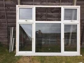 Plastic window large