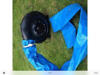 Bouncy castle air inflator