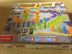 Domino rally race game