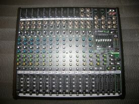 Mackie ProFX16 V2. Professional Mixer + USB Recording Interface with Setup via Mac or PC.
