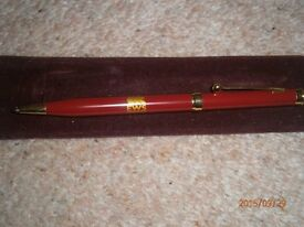 EWS RAILWAYS PEN AND SLEEVE - BRAND NEW