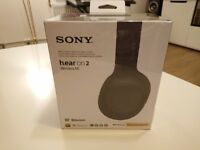 Sony WH-H900N Wireless Over-Ear Noise Cancelling High Resolution Headphones with Gesture control