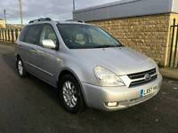 2007 KIA Sedona 2.9 CRDi TS MPV 5dr Diesel Automatic (182 bhp)+7Seater+DVD+Leather P.x Welcome